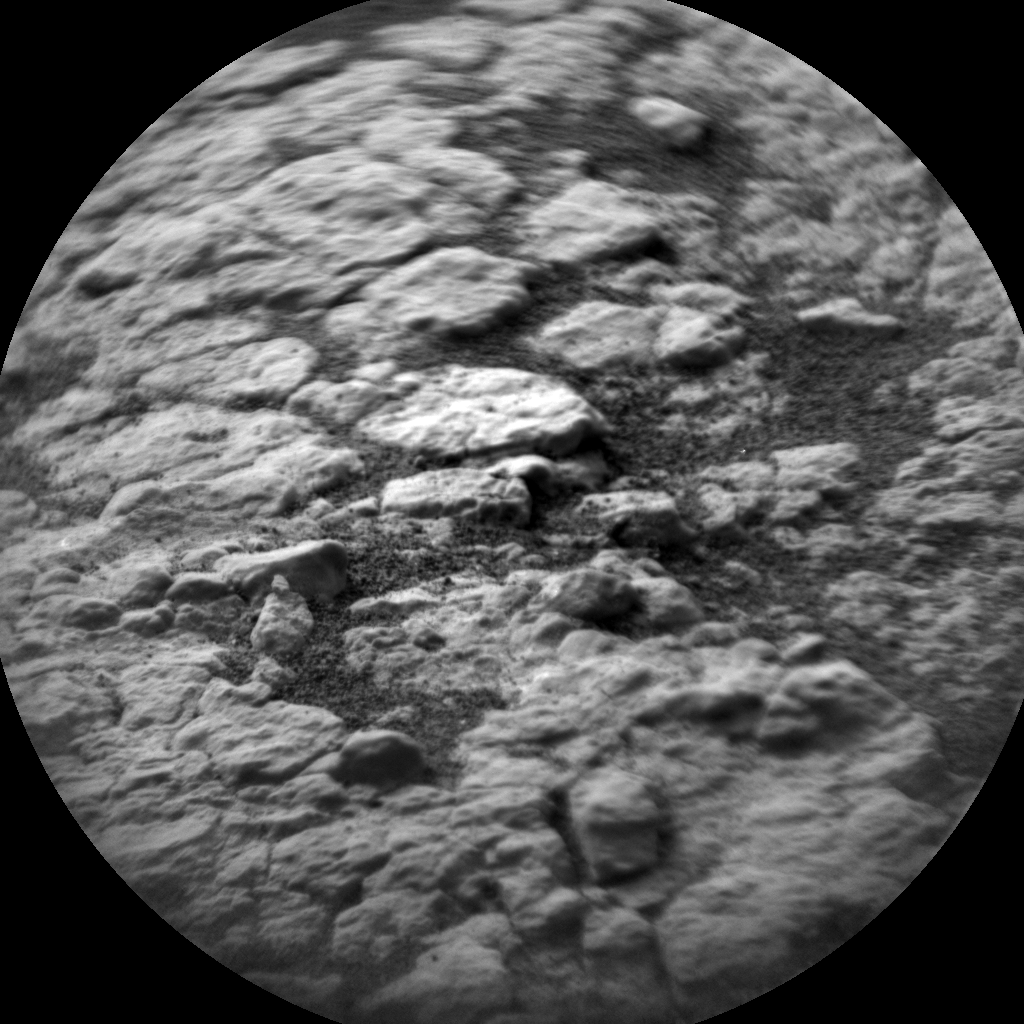 Nasa's Mars rover Curiosity acquired this image using its Chemistry & Camera (ChemCam) on Sol 2816, at drive 352, site number 82