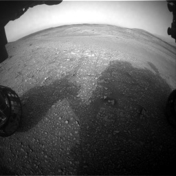 Nasa's Mars rover Curiosity acquired this image using its Front Hazard Avoidance Camera (Front Hazcam) on Sol 2817, at drive 874, site number 82