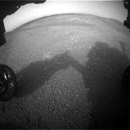 Nasa's Mars rover Curiosity acquired this image using its Front Hazard Avoidance Camera (Front Hazcam) on Sol 2817, at drive 898, site number 82