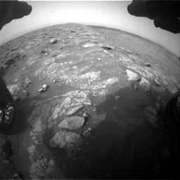 Nasa's Mars rover Curiosity acquired this image using its Front Hazard Avoidance Camera (Front Hazcam) on Sol 2817, at drive 844, site number 82