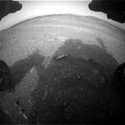 Nasa's Mars rover Curiosity acquired this image using its Front Hazard Avoidance Camera (Front Hazcam) on Sol 2817, at drive 862, site number 82