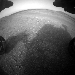 Nasa's Mars rover Curiosity acquired this image using its Front Hazard Avoidance Camera (Front Hazcam) on Sol 2817, at drive 868, site number 82