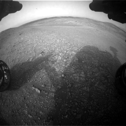 Nasa's Mars rover Curiosity acquired this image using its Front Hazard Avoidance Camera (Front Hazcam) on Sol 2817, at drive 880, site number 82