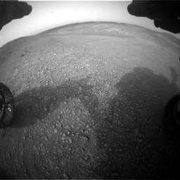 Nasa's Mars rover Curiosity acquired this image using its Front Hazard Avoidance Camera (Front Hazcam) on Sol 2817, at drive 886, site number 82