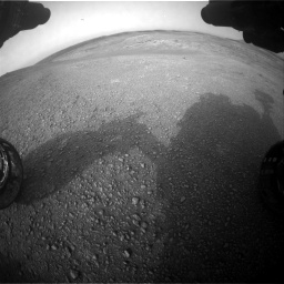 Nasa's Mars rover Curiosity acquired this image using its Front Hazard Avoidance Camera (Front Hazcam) on Sol 2817, at drive 892, site number 82