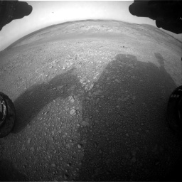 Nasa's Mars rover Curiosity acquired this image using its Front Hazard Avoidance Camera (Front Hazcam) on Sol 2817, at drive 904, site number 82