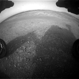 Nasa's Mars rover Curiosity acquired this image using its Front Hazard Avoidance Camera (Front Hazcam) on Sol 2817, at drive 910, site number 82