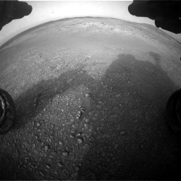 Nasa's Mars rover Curiosity acquired this image using its Front Hazard Avoidance Camera (Front Hazcam) on Sol 2817, at drive 922, site number 82