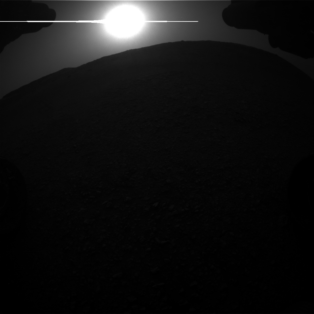 Nasa's Mars rover Curiosity acquired this image using its Front Hazard Avoidance Camera (Front Hazcam) on Sol 2817, at drive 938, site number 82