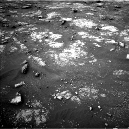Nasa's Mars rover Curiosity acquired this image using its Left Navigation Camera on Sol 2817, at drive 544, site number 82