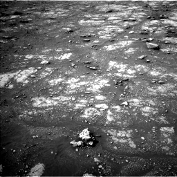 Nasa's Mars rover Curiosity acquired this image using its Left Navigation Camera on Sol 2817, at drive 580, site number 82
