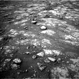 Nasa's Mars rover Curiosity acquired this image using its Left Navigation Camera on Sol 2817, at drive 592, site number 82