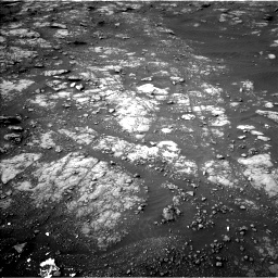 Nasa's Mars rover Curiosity acquired this image using its Left Navigation Camera on Sol 2817, at drive 622, site number 82