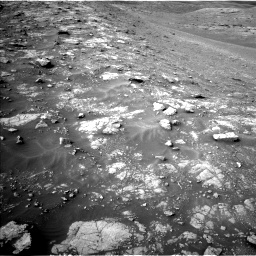 Nasa's Mars rover Curiosity acquired this image using its Left Navigation Camera on Sol 2817, at drive 826, site number 82