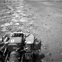 Nasa's Mars rover Curiosity acquired this image using its Left Navigation Camera on Sol 2817, at drive 856, site number 82