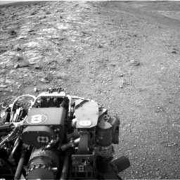 Nasa's Mars rover Curiosity acquired this image using its Left Navigation Camera on Sol 2817, at drive 868, site number 82