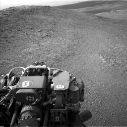 Nasa's Mars rover Curiosity acquired this image using its Left Navigation Camera on Sol 2817, at drive 898, site number 82