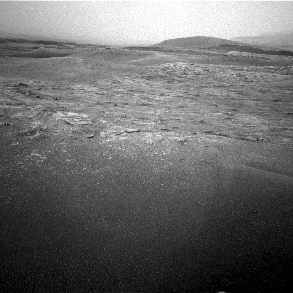 Nasa's Mars rover Curiosity acquired this image using its Left Navigation Camera on Sol 2817, at drive 938, site number 82