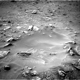Nasa's Mars rover Curiosity acquired this image using its Right Navigation Camera on Sol 2817, at drive 376, site number 82