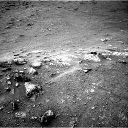 Nasa's Mars rover Curiosity acquired this image using its Right Navigation Camera on Sol 2817, at drive 400, site number 82