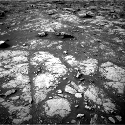 Nasa's Mars rover Curiosity acquired this image using its Right Navigation Camera on Sol 2817, at drive 670, site number 82