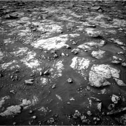 Nasa's Mars rover Curiosity acquired this image using its Right Navigation Camera on Sol 2817, at drive 694, site number 82