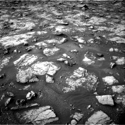 Nasa's Mars rover Curiosity acquired this image using its Right Navigation Camera on Sol 2817, at drive 706, site number 82