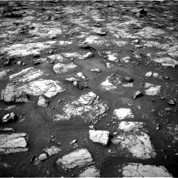 Nasa's Mars rover Curiosity acquired this image using its Right Navigation Camera on Sol 2817, at drive 718, site number 82