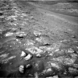 Nasa's Mars rover Curiosity acquired this image using its Right Navigation Camera on Sol 2817, at drive 838, site number 82