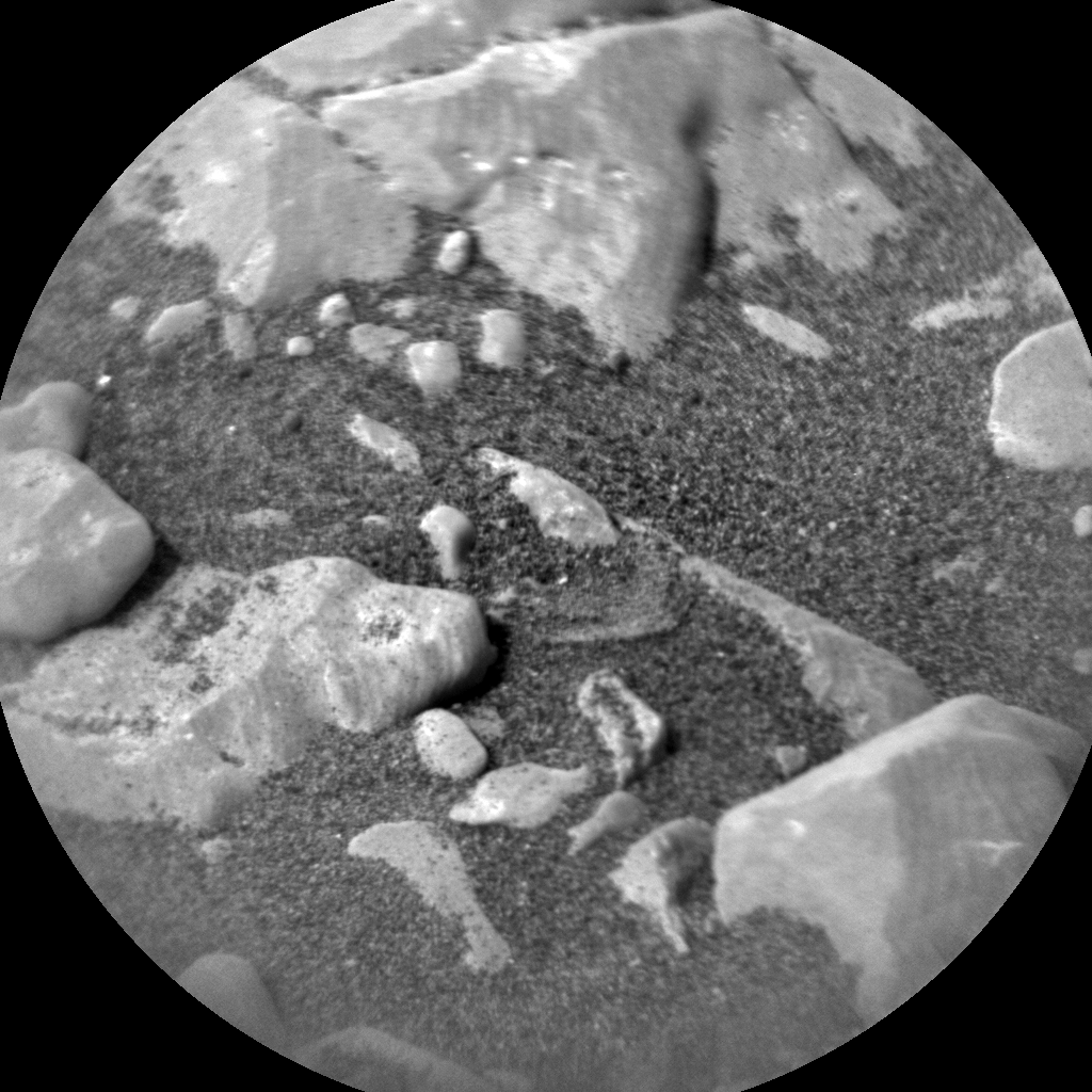Nasa's Mars rover Curiosity acquired this image using its Chemistry & Camera (ChemCam) on Sol 2818, at drive 938, site number 82