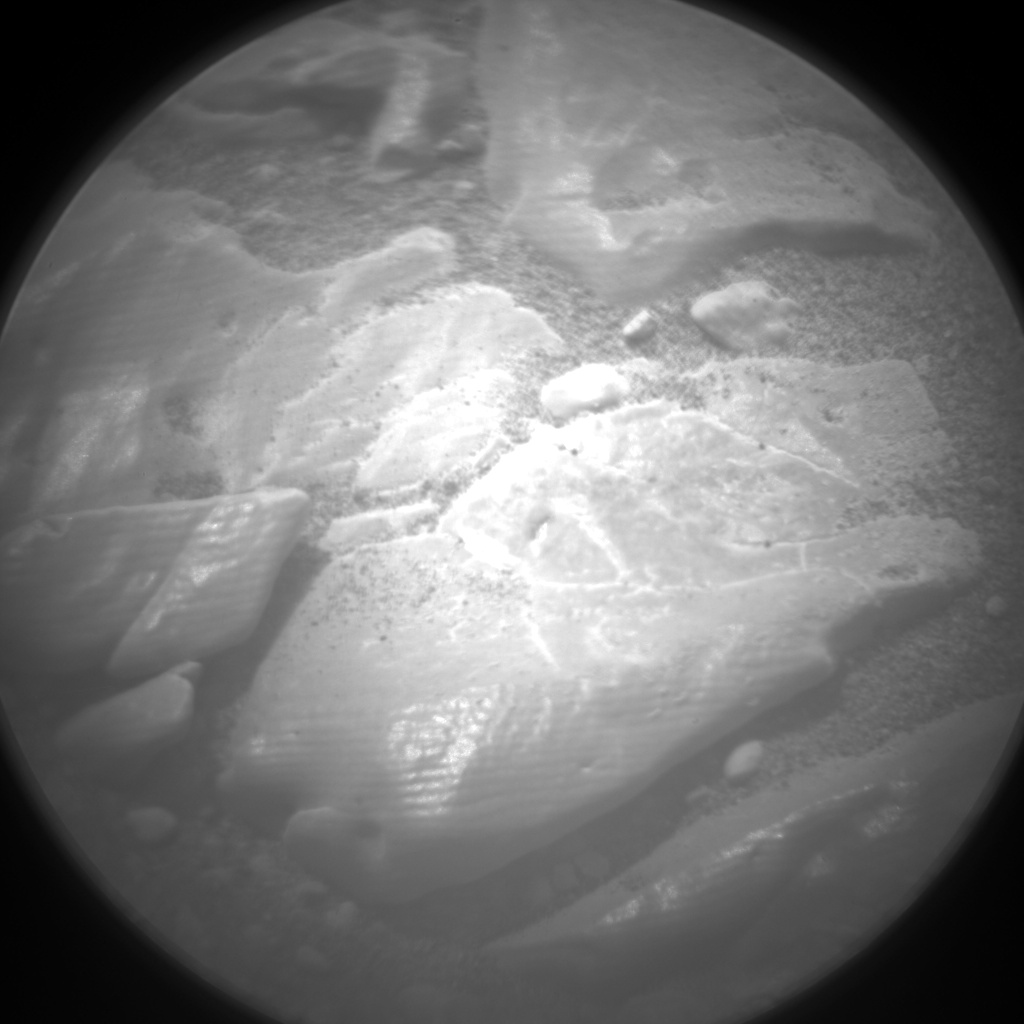 Nasa's Mars rover Curiosity acquired this image using its Chemistry & Camera (ChemCam) on Sol 2819, at drive 938, site number 82