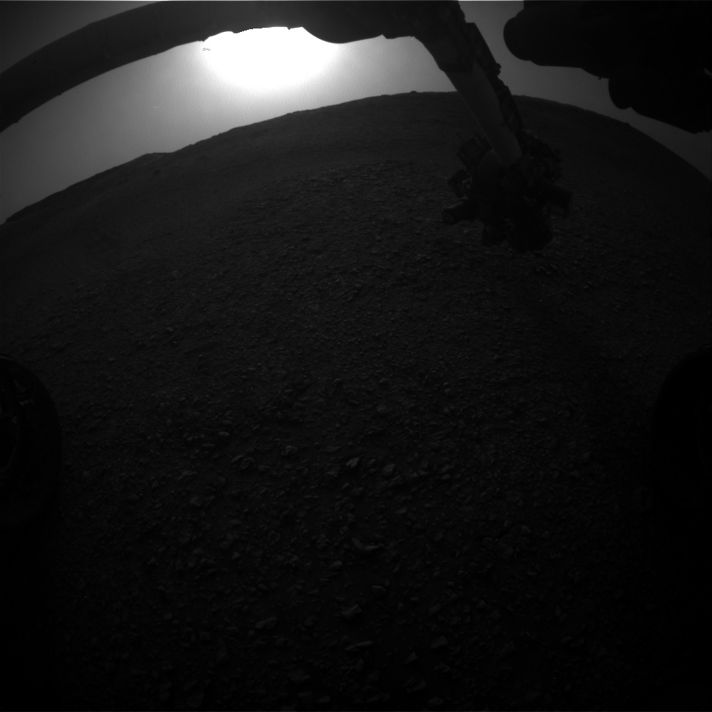 Nasa's Mars rover Curiosity acquired this image using its Front Hazard Avoidance Camera (Front Hazcam) on Sol 2819, at drive 938, site number 82