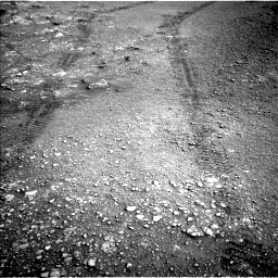Nasa's Mars rover Curiosity acquired this image using its Left Navigation Camera on Sol 2820, at drive 1136, site number 82