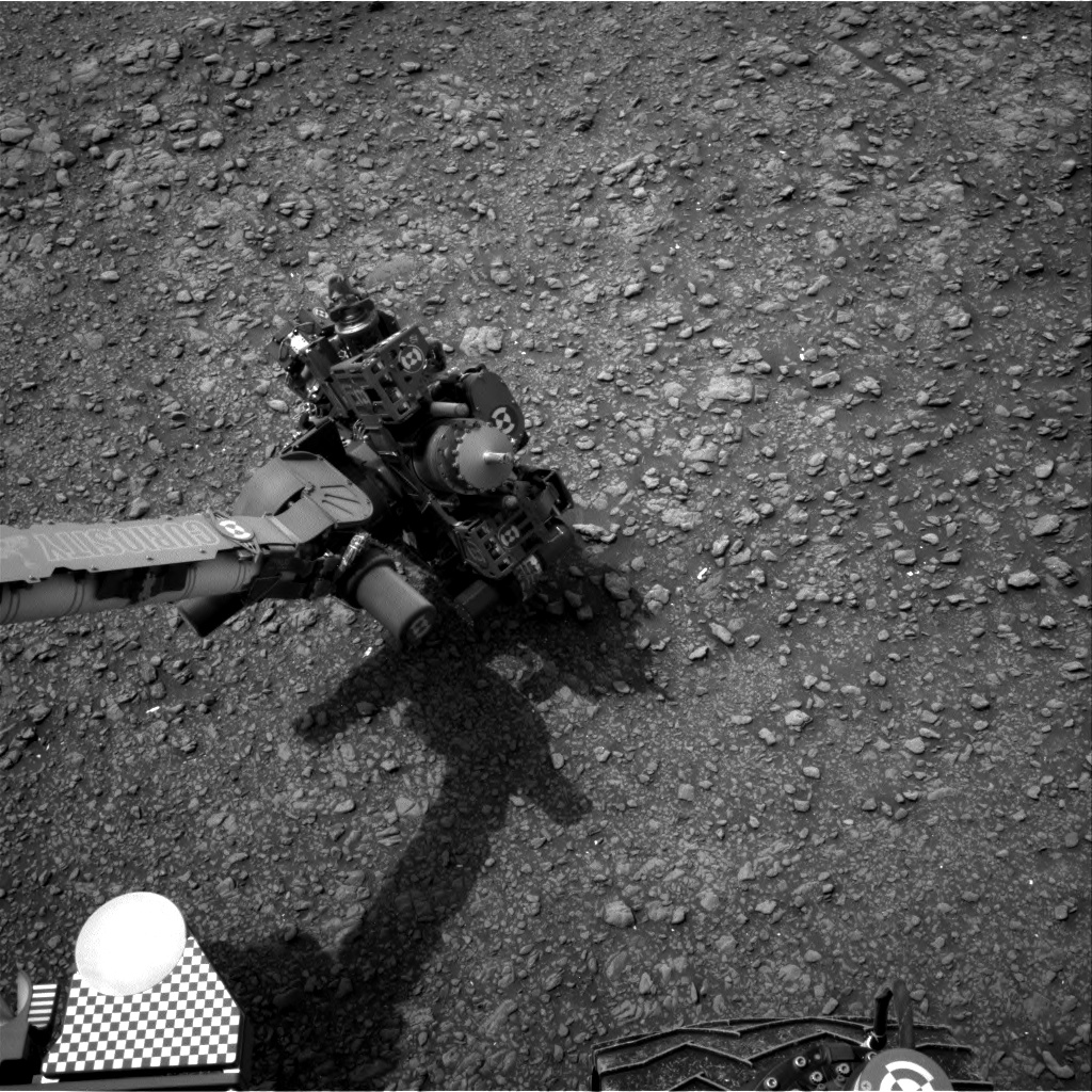 Nasa's Mars rover Curiosity acquired this image using its Right Navigation Camera on Sol 2820, at drive 938, site number 82