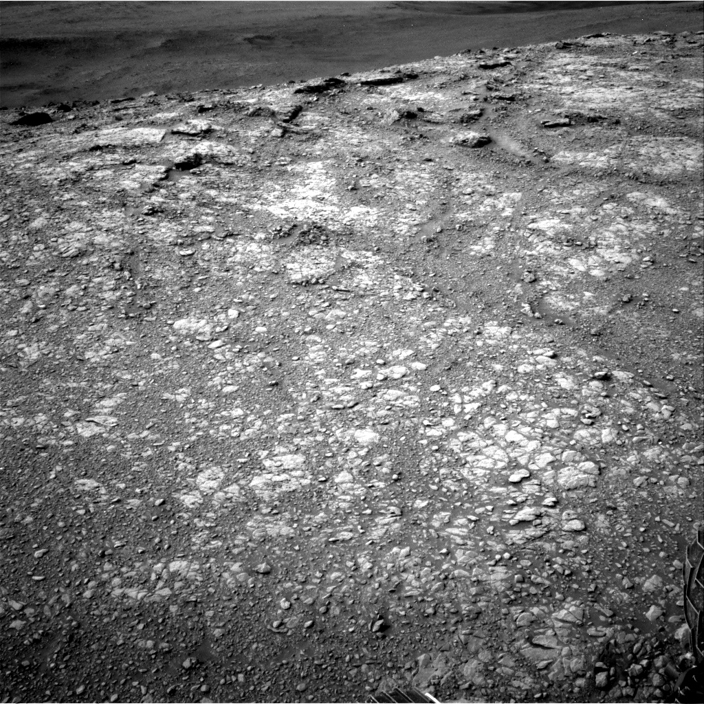 Nasa's Mars rover Curiosity acquired this image using its Right Navigation Camera on Sol 2820, at drive 1154, site number 82