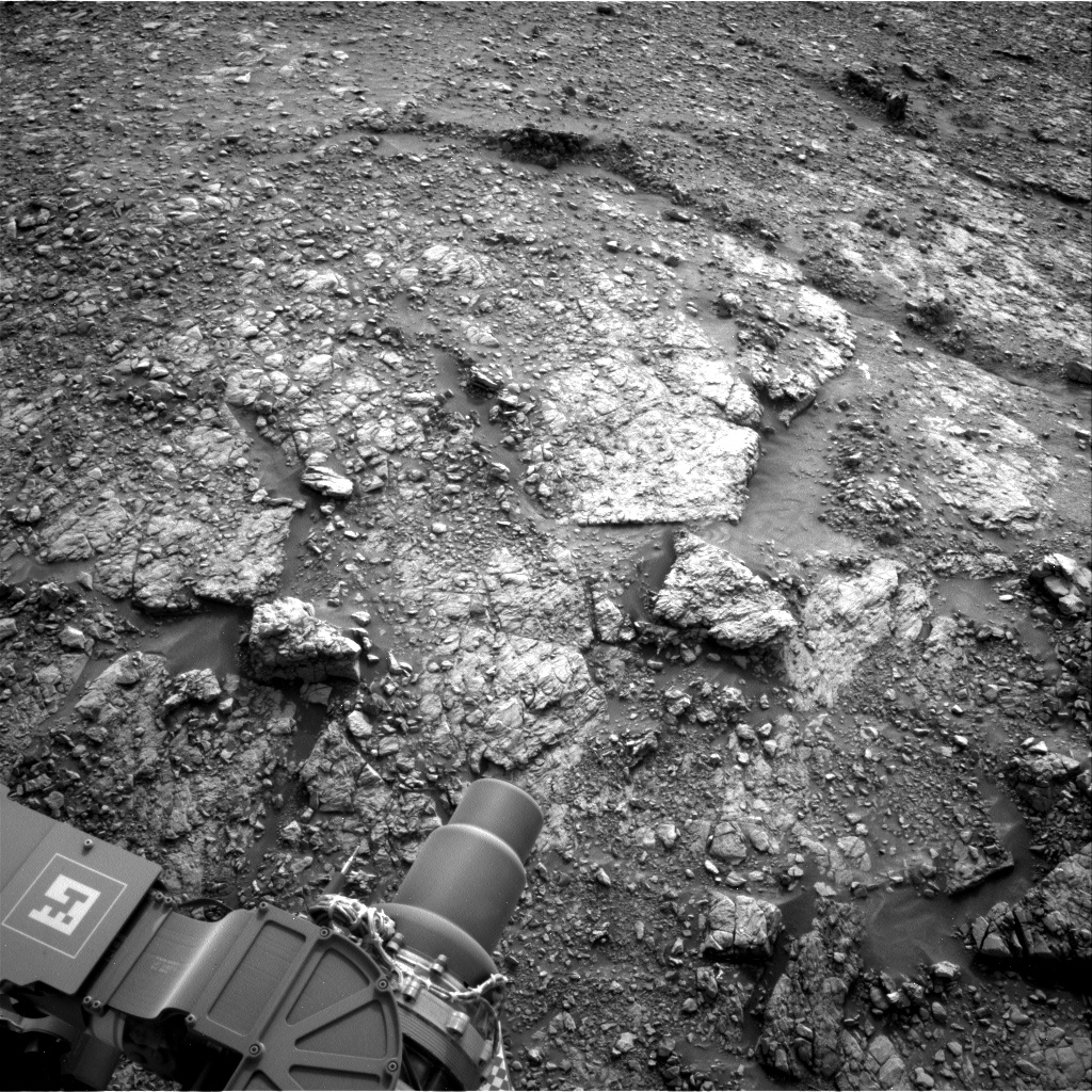 Nasa's Mars rover Curiosity acquired this image using its Right Navigation Camera on Sol 2820, at drive 1230, site number 82