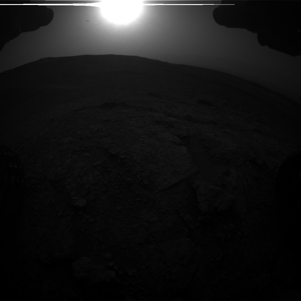 Nasa's Mars rover Curiosity acquired this image using its Front Hazard Avoidance Camera (Front Hazcam) on Sol 2822, at drive 1254, site number 82