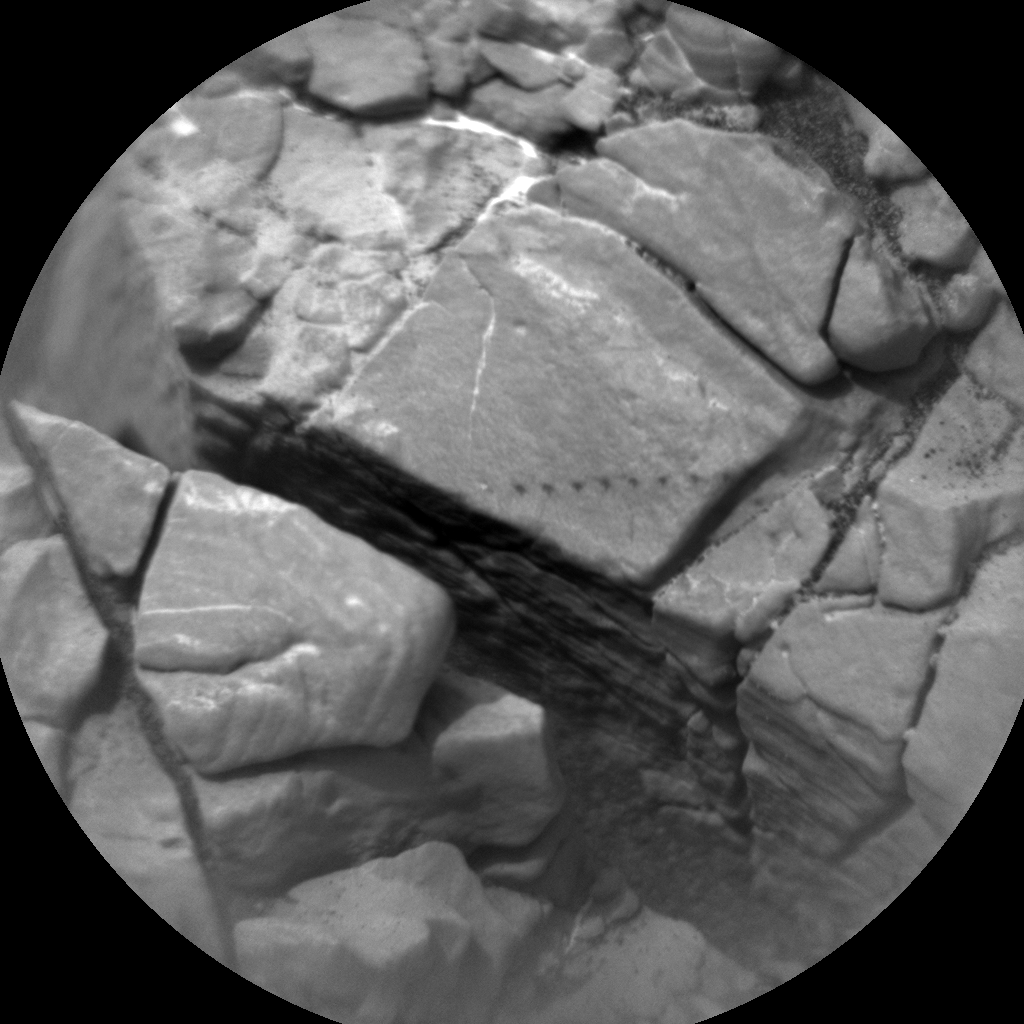 Nasa's Mars rover Curiosity acquired this image using its Chemistry & Camera (ChemCam) on Sol 2822, at drive 1230, site number 82