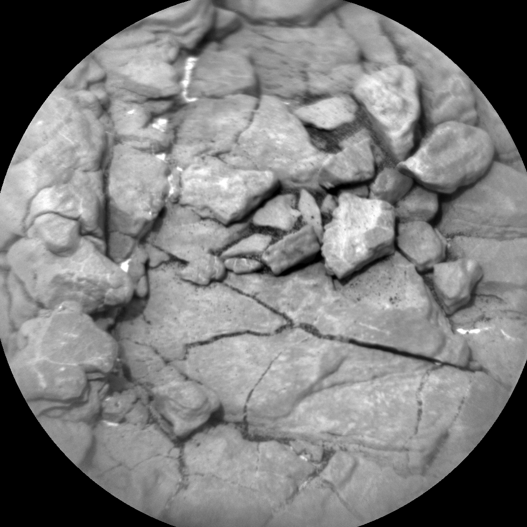 Nasa's Mars rover Curiosity acquired this image using its Chemistry & Camera (ChemCam) on Sol 2823, at drive 1254, site number 82