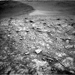 Nasa's Mars rover Curiosity acquired this image using its Left Navigation Camera on Sol 2824, at drive 1362, site number 82