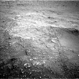 Nasa's Mars rover Curiosity acquired this image using its Left Navigation Camera on Sol 2824, at drive 1572, site number 82