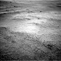 Nasa's Mars rover Curiosity acquired this image using its Left Navigation Camera on Sol 2824, at drive 1608, site number 82