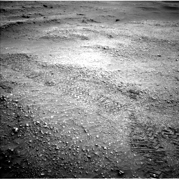 Nasa's Mars rover Curiosity acquired this image using its Left Navigation Camera on Sol 2824, at drive 1614, site number 82