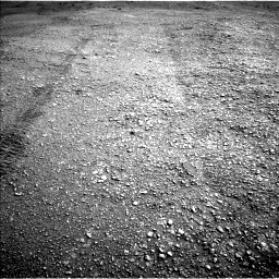 Nasa's Mars rover Curiosity acquired this image using its Left Navigation Camera on Sol 2824, at drive 1842, site number 82