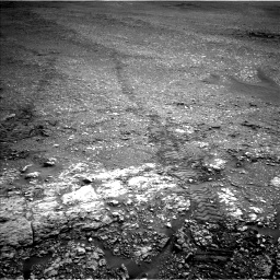 Nasa's Mars rover Curiosity acquired this image using its Left Navigation Camera on Sol 2824, at drive 1968, site number 82