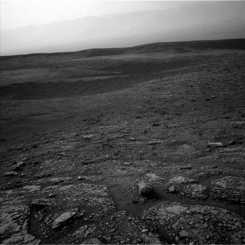 Nasa's Mars rover Curiosity acquired this image using its Left Navigation Camera on Sol 2824, at drive 1978, site number 82
