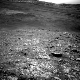 Nasa's Mars rover Curiosity acquired this image using its Right Navigation Camera on Sol 2824, at drive 1254, site number 82
