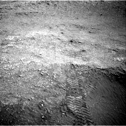 Nasa's Mars rover Curiosity acquired this image using its Right Navigation Camera on Sol 2824, at drive 1560, site number 82