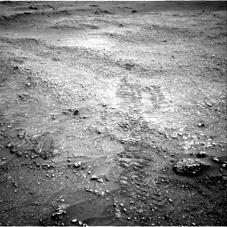 Nasa's Mars rover Curiosity acquired this image using its Right Navigation Camera on Sol 2824, at drive 1626, site number 82