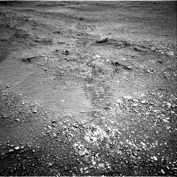 Nasa's Mars rover Curiosity acquired this image using its Right Navigation Camera on Sol 2824, at drive 1650, site number 82